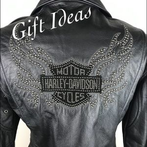 Harley-Davidson Ladies Studded Leather Jacket